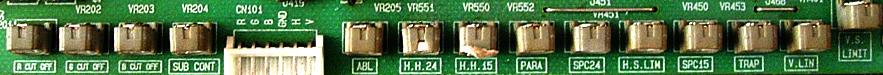 NANAO MS9 chassis controls